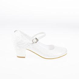 Kız Çocuk Abiye Ayakkabı Beyaz (28-34 numara)
