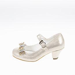 Kız Çocuk Abiye Ayakkabı Dore (28-34 numara)