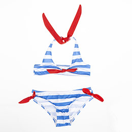 Kız Çocuk Bikini Mavi (1-12 yaş)