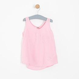 Kız Çocuk Bluz Pembe (3-12 yaş)