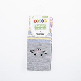 Kız Çocuk Çorap Gri (23-34 numara)