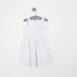 Kız Çocuk Elbise Beyaz (3-12 yaş)