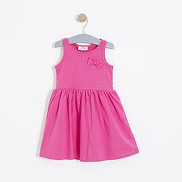 Kız Çocuk Elbise Pembe (3-12 yaş)