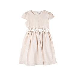 Kız Çocuk Elbise Sütlü Kahve (1-10 yaş)