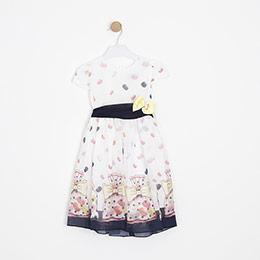 Kız Çocuk Elbise Beyaz (1-10 yaş)