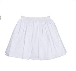 Kız Çocuk Etek Beyaz (3-12 yaş)