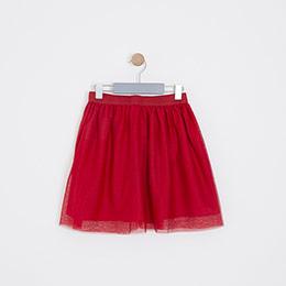 Kız Çocuk Etek Kırmızı (3-12 yaş)