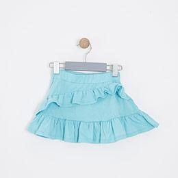 Kız Çocuk Etek Mint (3-12 yaş)