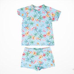Kız Çocuk Mayo Set Mavi (1-6 yaş)
