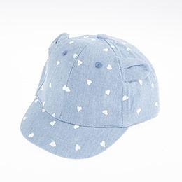 Kız Çocuk Kep Şapka Mavi (2-4 yaş)