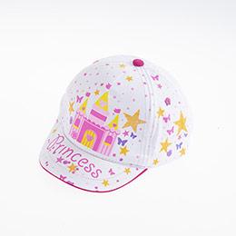 Kız Çocuk Kep Şapka Beyaz (2-4 yaş)