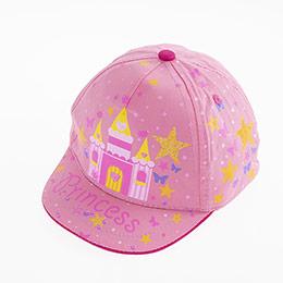 Kız Çocuk Kep Şapka Pembe (2-4 yaş)