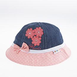 Kız Çocuk Fötr Şapka Koyu Mavi (5-8 yaş)