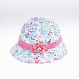 Kız Çocuk Fötr Şapka Açık Pembe (5-8 yaş)
