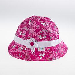Kız Çocuk Fötr Şapka Fuşya (5-8 yaş)