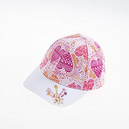 Kız Çocuk Kep Şapka Beyaz (5-8 yaş)
