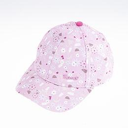 Kız Çocuk Kep Şapka Lila (5-8 yaş)