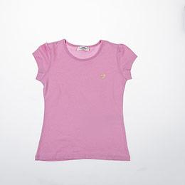Kız Çocuk Tişört Açık Pembe (3-12 yaş)