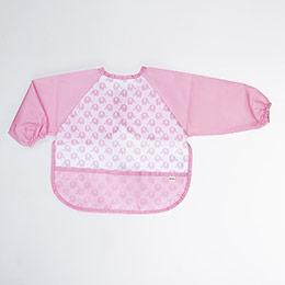 Kız Bebek Aktivite Önlüğü Pembe (0-2 yaş)