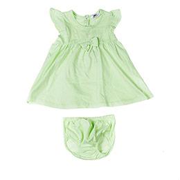 Kız Bebek Elbise Set Yeşil (0-2 yaş)