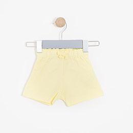 Kız Bebek Şort Sarı (0-2 yaş)