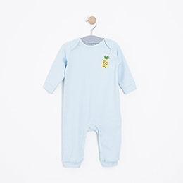 Yenidoğan Kız Bebek 2li Tulum Mavi (3-18 ay)