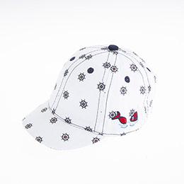 Erkek Bebek Kep Şapka Beyaz (0-18 ay)