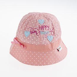 Kız Bebek Fötr Şapka KARİDES (0-18 ay)