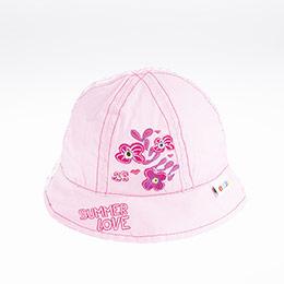 Kız Bebek Fötr Şapka Pembe (0-18 ay)