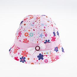 Kız Bebek Fötr Şapka Toz Pembe (0-18 ay)