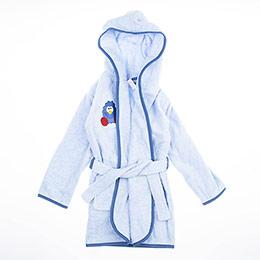 Erkek Çocuk Bornoz Mavi (1-7 yaş)