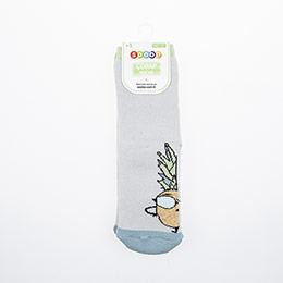 Erkek Çocuk Altı Kaydırmaz Havlu Çorap Beyaz (23-34 numara)