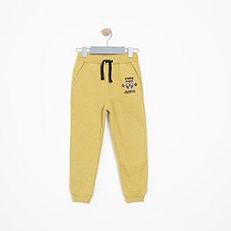 Erkek Çocuk Eşofman Altı Sarı (3-12 yaş)