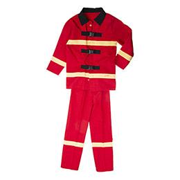Erkek Çocuk Kostüm Kırmızı (3-8 yaş)