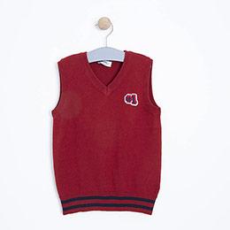 Erkek Çocuk Süveter Kırmızı(3-12 yaş)