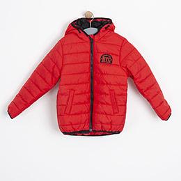 Erkek Çocuk Mont Kırmızı (2-12 yaş)