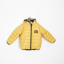 Erkek Çocuk Mont Sarı (2-12 yaş)