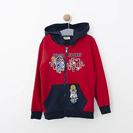 Erkek Çocuk Sweatshirt Kırmızı (3-7 yaş)