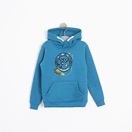 Erkek Çocuk Sweatshirt Petrol Mavi (3-12 yaş)