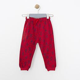 Erkek Bebek Eşofman Altı Kırmızı (9-24 ay)