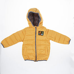 Erkek Bebek Mont Sarı (3-24 ay)