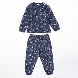 Erkek Bebek Pijama Takımı Lacivert (9-24 ay)