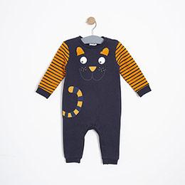 Erkek Bebek Tulum Antrasit (9-24 ay)