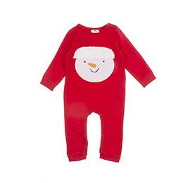 Erkek Bebek Tulum Kırmızı (3-24 ay)