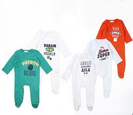 Erkek Bebek Tulum Set Mix (3-15 ay)