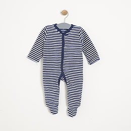 Erkek Bebek Tulum Set Turuncu (3-15 ay)