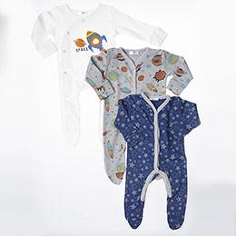 Erkek Bebek Tulum Set Lacivert (3-15 ay)