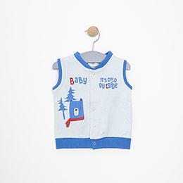 Erkek Bebek Yelek Mavi (3-15 ay)