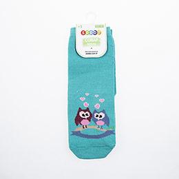 Kız Çocuk Bilek Üstü Çorap Petrol (23-34 numara)