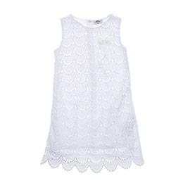 Kız Çocuk Elbise Krem (3-7 yaş)